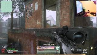Mw2 PC TDM Sniper Gameplay with Keyboard and Mouse Camera