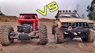 HB Rock Crawler Vs Wpl C14 - Rock Crawlers comparison