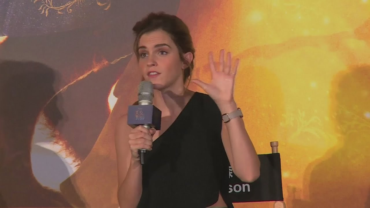 Emma Watson admits she was 'spoiled' on fairytale set that created the Beast in person