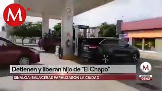 Así se vivió la balacera en Culiacán tras detener al hijo de 'El Chapo'