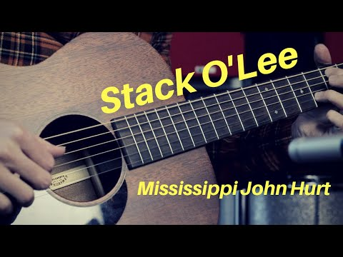 Stack O'Lee/Stagolee by Mississippi John Hurt | Blues Fingerstyle Lesson