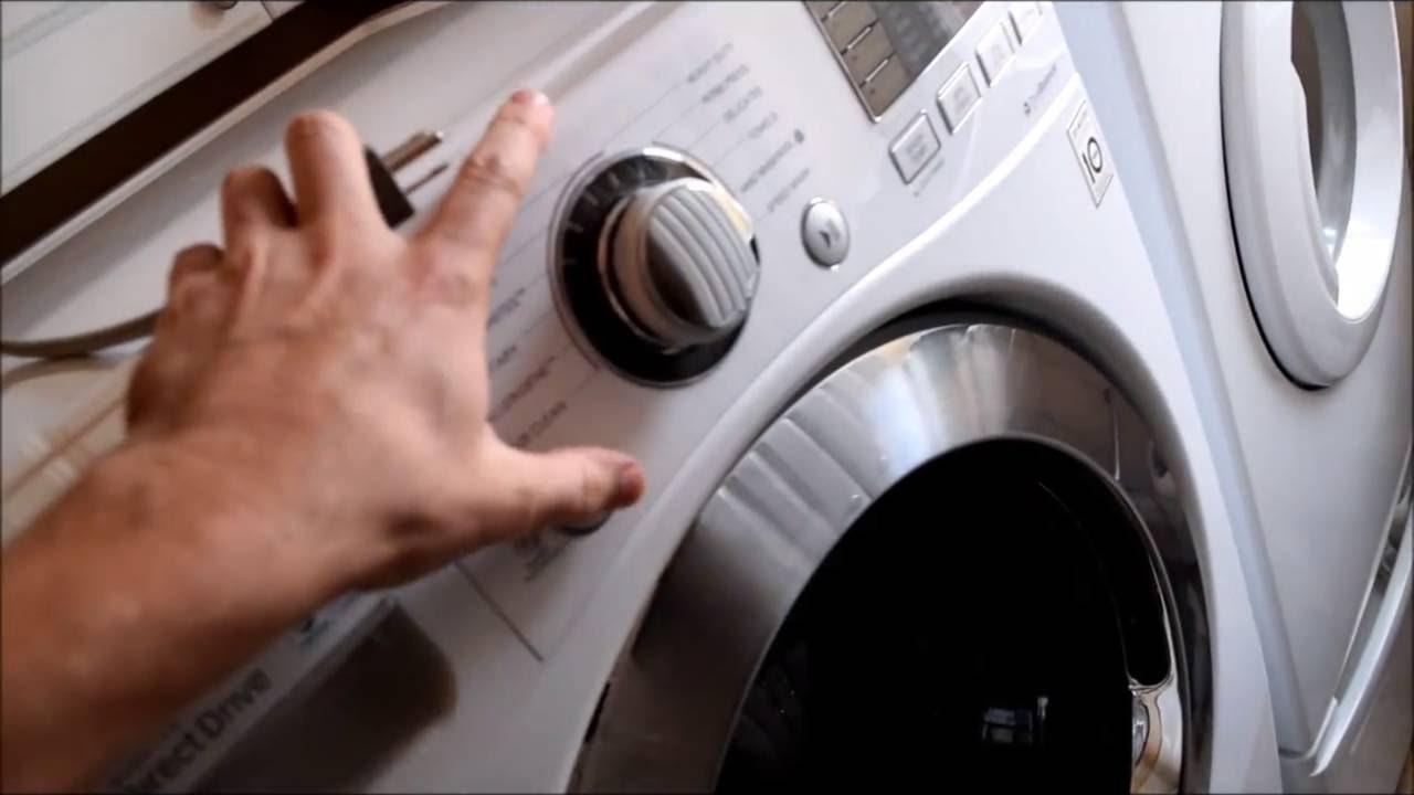 LG Washer won't power up: Permanent Fix
