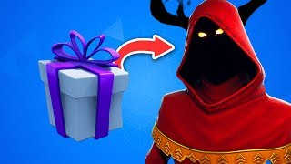 VOICI THE NOEL SECRET CADEAU THAT ON VA OBTENIR on FORTNITE.