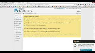 easyTestMaker: Crea exámenes online o en papel.