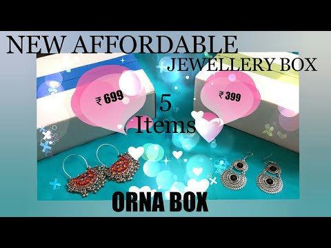 New*ORNA BOX || AFFORDABLE JEWELLERY BOX || FASHION  IVY