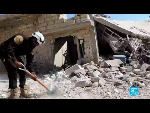 Ofensiva Militar Siria Y Bombardeos Rusos En Idlib