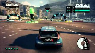 Dirt 3 - First Gymkhana Gameplay video on Xbox 360