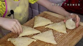 Самсы (Самса) С Тыквой И Мясом Узбекский Рецепт / Готовит 7-летняя девочка