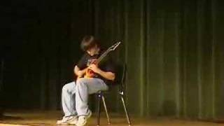 8th grader playing Eddie Van Halen