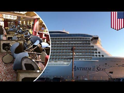 Anthem of the Seas: Royal Caribbean ship sails through storm, passengers' worst nightmare - TomoNews