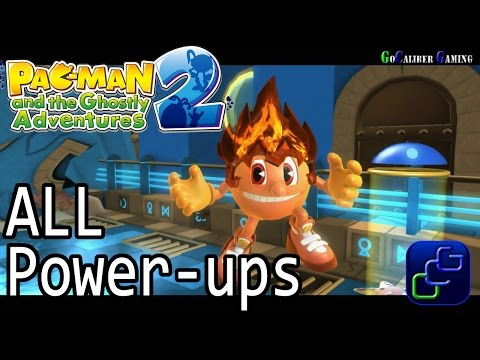 Pac-Man And The Ghostly Adventures 2 - Tutorial ALL Power Ups