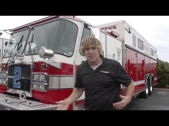 Prince Fredrick Rescue Truck