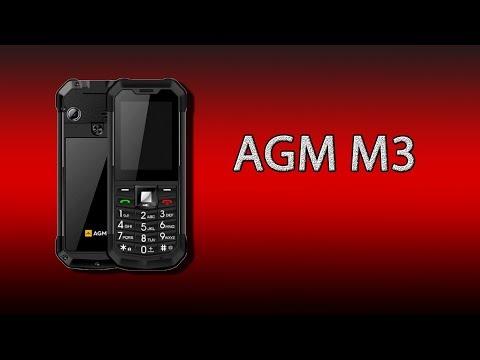 AGM M3 - бюджетный кнопочный защищённик с большим фонариком, радио..