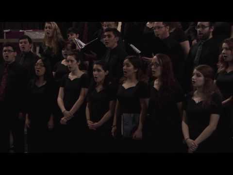 Wagner College Choir concert in Granada, Spain
