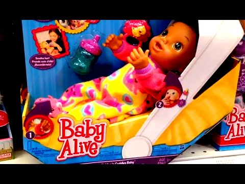Baby Alive Tickles N Cuddles Baby Youtube