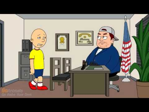 Caillou Has A Tantrum/Grounded [Alternate Version]