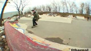 Ethernal Skate Films / Skateboard Video @ DIY Skatepark Projet 45 (P45 Montreal) - Late Summer 2011