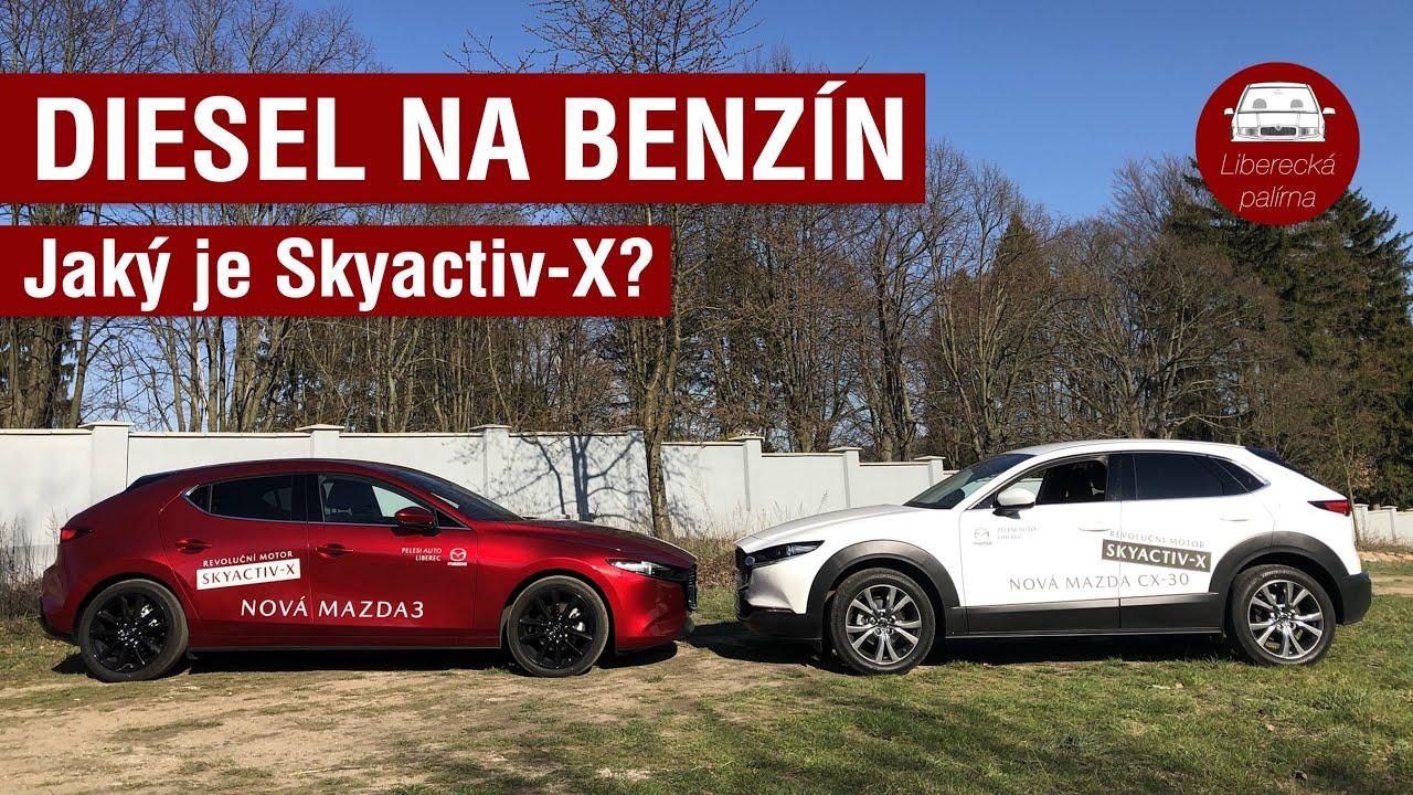 Test Mazda 3 vs. Mazda CX-30 | Nový revoluční motor Skyactiv-X / Palírna vlog #19