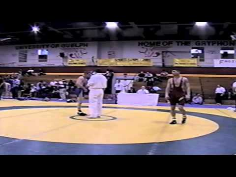 2002 Senior Greco National Championships: 60 kg Charles Mitchell vs. Mike Francis