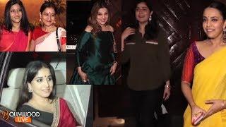 Hot Vidya Balan, Konkona Sen Sharma, Swara Bhaskar Spotted Outside Amitabh Bachchan House Jalsa