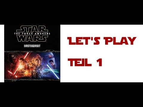 Star Wars: Das Erwachen der Macht-Einsteigerset: Pen and Paper-Let's Play (1/2)