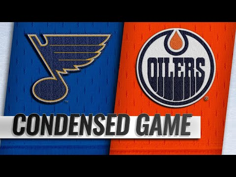 12/18/18 Condensed Game: Blues @ Oilers