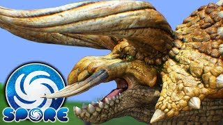 THIS IS AMAZING! Perfect MONSTER HUNTER Creations In Spore! - Spore Gameplay
