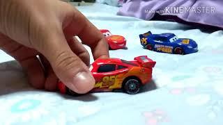 Mattel Disney cars 2 (wgp lightning mcqueen)😄😊