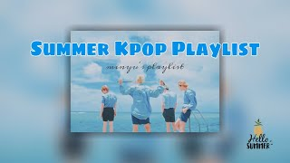 🌅 SUMMER KPOP PLAYLIST |❤️Boy Group Ver.