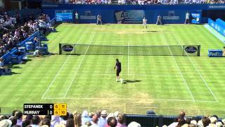 Andy Murray vs Radek Stepanek - 2014 Aegon Championships Match Highlights