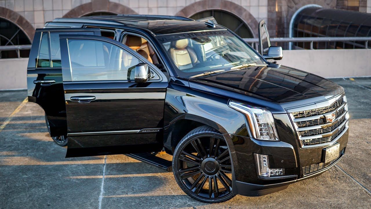 2017 escalade custom wrap and paint [ 1280 x 720 Pixel ]