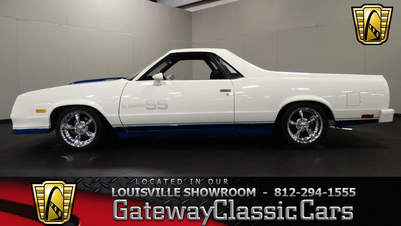 1985 Chevrolet El Camino Ss Louisville Showroom Stock
