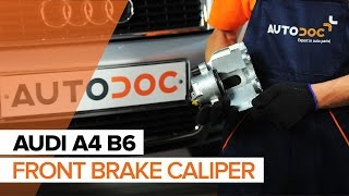 rear and front Brake Shoes fitting AUDI A4 (8E2, B6): free video