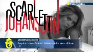 Scarlett Johansson Named Sexiest Woman Alive: Esquire magazine chooses Jewish beauty