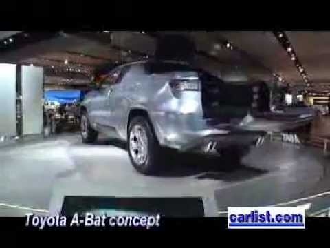 Toyota A Bat Hybrid With Nimh Pickup Concept Truck Detroit Auto Show Naias 2018 Michigan You