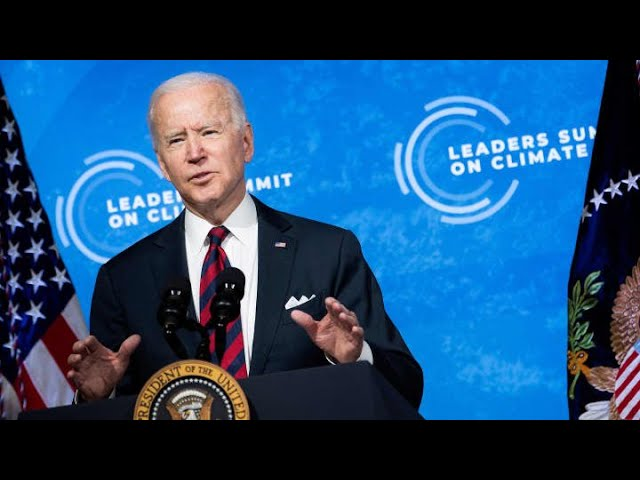Biden's Earth Day Climate Goal Update
