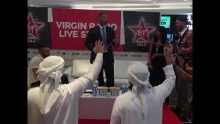 فيديو: ويل سميث يرقص الخليجي في دبي..