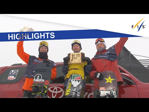 Highlights | Gerard stands out in Men's Slopestyle at Mammoth Mtn. | FIS Snowboard