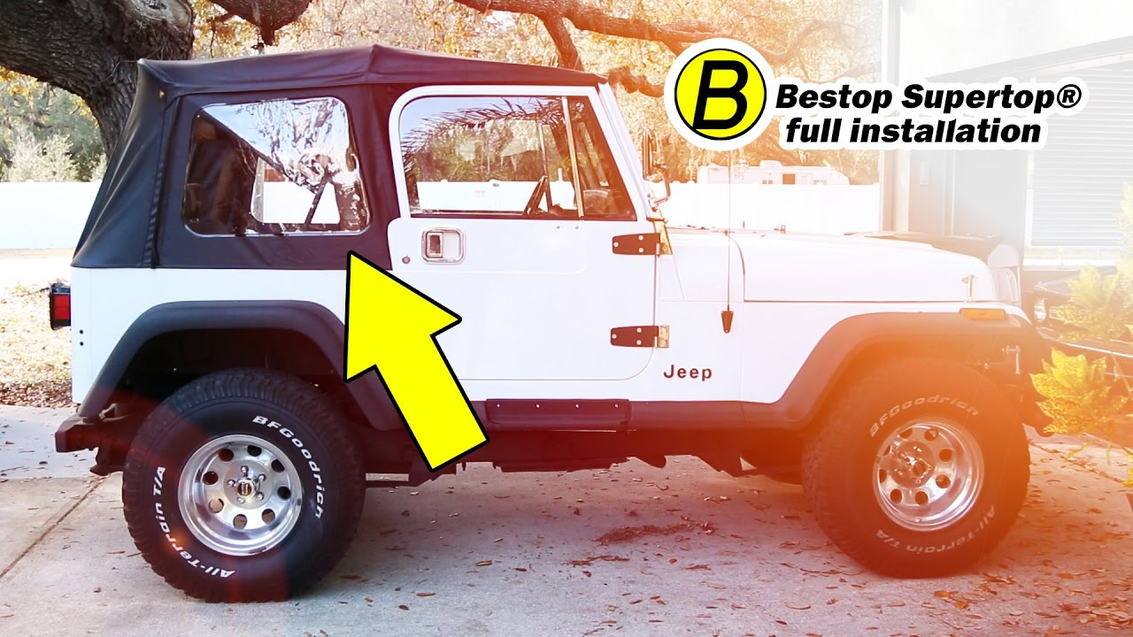 bestop wiring diagram wiring schematic diagramhow to install a bestop supertop on a jeep wrangler yj full hvac wiring