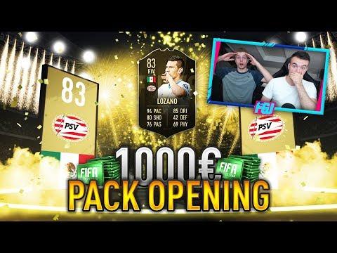 FIFA 19: Road to Ronaldo 🔥 XXL 1000€ PACK OPENING!! 😱