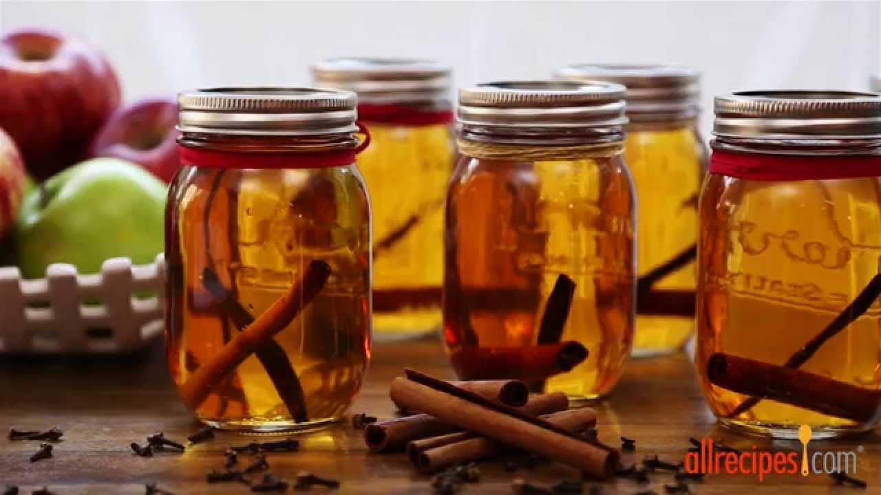 How to Make Apple Pie Ala Mode Moonshine | Homemade Gifts | Allrecipes.com - YouTube