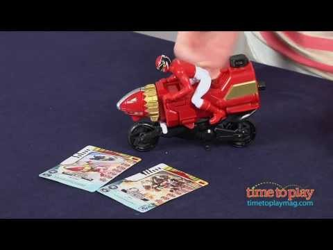 Power Rangers Megaforce Sky Lion Red Ranger Cycle From Bandai