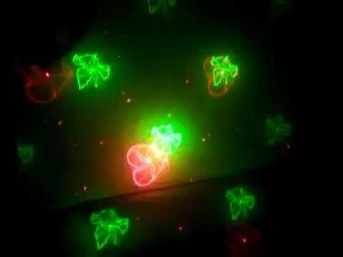 Đèn Laser chiếu hình trái tim, bồ câu, sao trang trí phòng Karaoke độc đáo