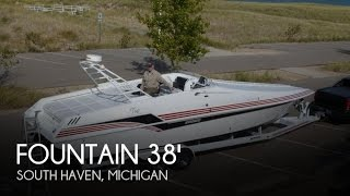 [UNAVAILABLE] Used 1992 Fountain 38 Sport Cruiser in South Haven, Michigan
