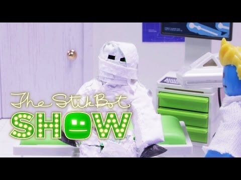 The Stikbot Show 🎬   The one with the NEW SET