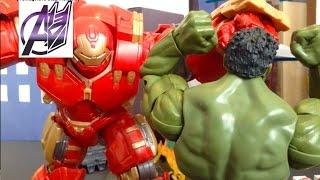 Iron man Stop Motion-Hulk vs Hulkbuster Stop Motion [Age of Ultron Aftermath]