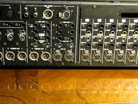 tascam 3700 32ch mixer w vca automation audio upgrades optimization youtube. Black Bedroom Furniture Sets. Home Design Ideas