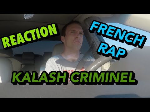SOMBRE BY: KALASH CRIMINEL FRENCH RAP REACTION (SOFT INTRO TURNS TO BANGER)