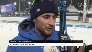 JO 2018 :- Combiné nordique / Jason Lamy-Chappuis :