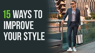 Quick & Affordable Style Improvements | Men's Fashion Tips